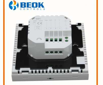 Beok Thermostat Wiring Diagram Brilliant BEOK BOT-313 WIFI, Boiler Heating Thermostat Blue&White Room Temperature Controller Regulator, Boilers Weekly Programmable Images