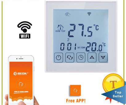Beok Thermostat Wiring Diagram New Beok TDS23WIFI-EP Wifi Smart Programmable Thermostat With Large Touch Screen Display Remote Control Temperature Controller Galleries