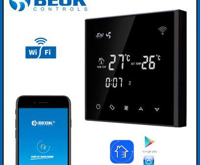 Beok Thermostat Wiring Diagram Popular Beok TGT70WIFI AC Black Touch Screen, Coil Thermostat With Heating, Cooling & Ventilation Modes-In HVAC Systems & Parts From Home Improvement On Photos