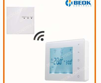 Beok Thermostat Wiring Diagram Simple BOT X306 Wireless Touch Screen Programmable, Boiler Thermostat, Room Heating Temperature Controller Regulator, Lock-In Temperature Instruments From Ideas