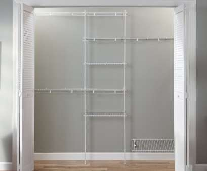 best wire closet shelving Closet Organizer Kit-White Color-5 Feet to 8 Feet-ClosetMaid Best Wire Closet Shelving Best Closet Organizer Kit-White Color-5 Feet To 8 Feet-ClosetMaid Pictures