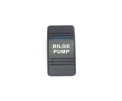 Bilge Pump Toggle Switch Wiring Popular Get Quotations · Euro Rocker Switch Cover, BILGE PUMP. Black With Blue Lens. Contura III Photos