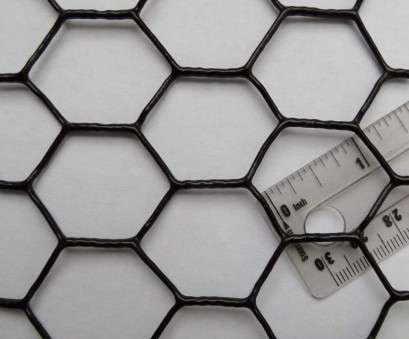 black pvc coated aviary wire mesh Amazon.com : Pinnon Hatch Farms Chicken Wire Fence, Coated UV 1