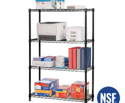 black epoxy wire shelving 4-Tier Black Epoxy, Steel Wire Shelving, 14x36x54 Black Epoxy Wire Shelving Fantastic 4-Tier Black Epoxy, Steel Wire Shelving, 14X36X54 Galleries