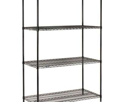 black epoxy wire shelving Amazon.com: Nexel 4-Shelf Wire Shelving Unit, Black Finish,, W x, L x, H: Industrial & Scientific Black Epoxy Wire Shelving Brilliant Amazon.Com: Nexel 4-Shelf Wire Shelving Unit, Black Finish,, W X, L X, H: Industrial & Scientific Solutions