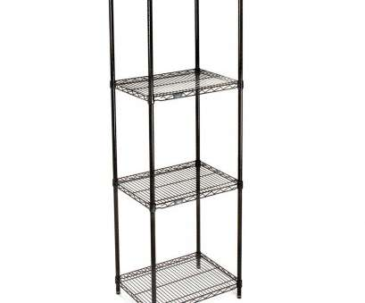 black epoxy wire shelving Amazon.com: Nexel Wire Shelving, Black Epoxy, 24