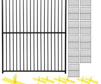 black welded wire mesh panels 6, x 60, 12-Panel Black Powder-Coated European Style Welded Wire Temporary Fencing 20 Fantastic Black Welded Wire Mesh Panels Solutions