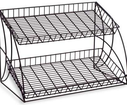 black wire basket shelf Wire Rack, Tabletop, with 2 Tiers, Open Shelving, Black Black Wire Basket Shelf Popular Wire Rack, Tabletop, With 2 Tiers, Open Shelving, Black Pictures
