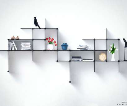 black wire circle shelf 15 Breathtaking Floating Shelves That, Don't Have To DIY Black Wire Circle Shelf Professional 15 Breathtaking Floating Shelves That, Don'T Have To DIY Images