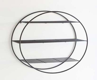 black wire circle shelf Wire Circle Shelf, Shelving, Roomspiration, Flats Black Wire Circle Shelf Brilliant Wire Circle Shelf, Shelving, Roomspiration, Flats Photos