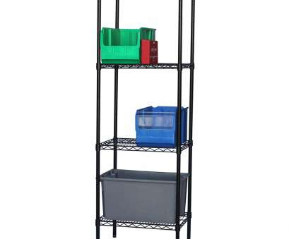 Black Wire Shelf Bathroom Best Black Wire Shelving With 4 Shelves, Standard Duty,, Shelving Photos
