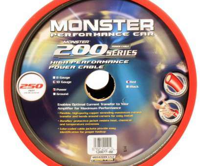 boat speaker wire gauge Amazon.com: Monster Cable, P200 10R-250 25 Foot 10 Gauge Power +Ground Wire, Series: Electronics Boat Speaker Wire Gauge Nice Amazon.Com: Monster Cable, P200 10R-250 25 Foot 10 Gauge Power +Ground Wire, Series: Electronics Ideas