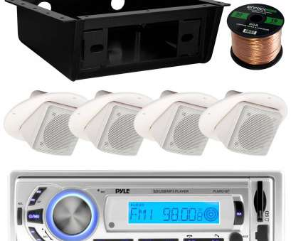boat speaker wire gauge Get Quotations · Pyle PLMR21BT Marine Boat USB/SD/MP3 Bluetooth Stereo Receiver Bundle Combo With 4x Boat Speaker Wire Gauge Nice Get Quotations · Pyle PLMR21BT Marine Boat USB/SD/MP3 Bluetooth Stereo Receiver Bundle Combo With 4X Photos