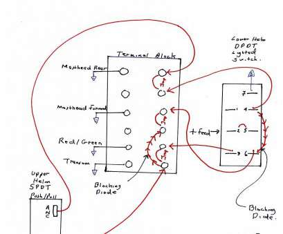 boat toggle switch wiring practical marine boat wiring, lighting schematic  diagrams rh bestkodiaddons co basic