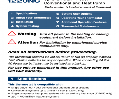 braeburn thermostat 1020 wiring diagram Braeburn 1220NC User Manual, 10 pages, Also for: 1020NC 14 Fantastic Braeburn Thermostat 1020 Wiring Diagram Solutions