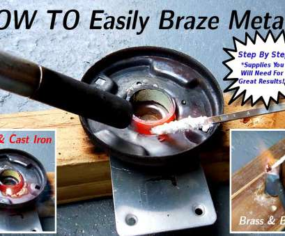 brazing with copper electrical wire How To EASILY Braze Steel/Iron/Brass/Bronze/Copper Brazing With Copper Electrical Wire Brilliant How To EASILY Braze Steel/Iron/Brass/Bronze/Copper Galleries