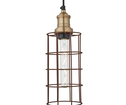 brooklyn vintage 5 wire pendant light Brooklyn Rusty Cage Pendant, Inch, Cylinder Brooklyn Vintage 5 Wire Pendant Light New Brooklyn Rusty Cage Pendant, Inch, Cylinder Galleries