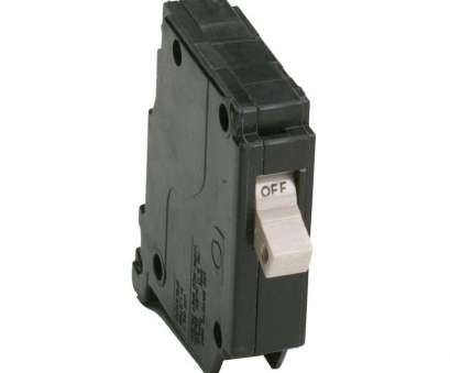 Can 12 Gauge Wire Be Used With A 15, Breaker Creative Eaton 15, Single Pole Type CH Breaker Images