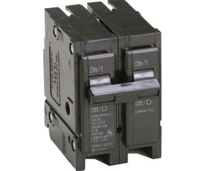 Can 12 Gauge Wire Be Used With A 15, Breaker Popular Eaton BR 15, 2 Pole Circuit Breaker Solutions