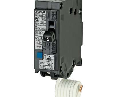 Can 12 Gauge Wire Be Used With A 15, Breaker Creative Murray 15, 1, Single-Pole Combination AFCI Circuit Breaker Galleries