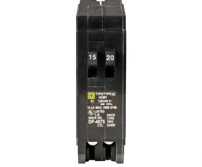 Can 12 Gauge Wire Be Used With A 15, Breaker Nice Square D Homeline 15, 20, Single-Pole Tandem Circuit Breaker Galleries