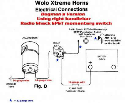 can 14 gauge wire used 20 amp circuit Horn Wiring Diagram with Relay, Wolo Horn Wiring, Collection Can 14 Gauge Wire Used 20, Circuit Perfect Horn Wiring Diagram With Relay, Wolo Horn Wiring, Collection Images