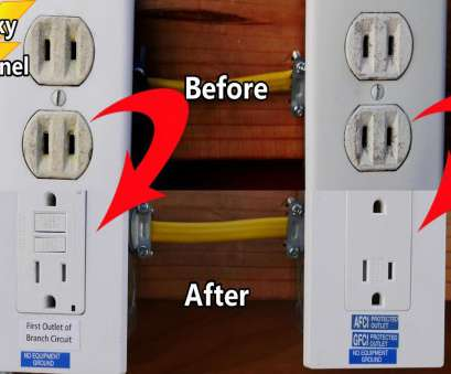can 14 gauge wire used 20 amp circuit Replace a Circuit of 2 Prong Receptacles With AFCI GFCI Protected 3 Prong Outlets Can 14 Gauge Wire Used 20, Circuit Most Replace A Circuit Of 2 Prong Receptacles With AFCI GFCI Protected 3 Prong Outlets Collections
