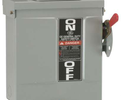 can 8 gauge wire handle 60 amps GE 60, 240-Volt Non-Fuse Outdoor General-Duty Safety Switch Can 8 Gauge Wire Handle 60 Amps Simple GE 60, 240-Volt Non-Fuse Outdoor General-Duty Safety Switch Collections