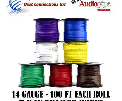 can i use 14 gauge wire for lights Details about Trailer Light Cable Wiring Harness Rewire 14 Gauge, Feet 7 Rolls Can I, 14 Gauge Wire, Lights Most Details About Trailer Light Cable Wiring Harness Rewire 14 Gauge, Feet 7 Rolls Images
