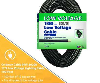 can you use 12 gauge wire for lighting Coleman Cable, Voltage Outdoor Lighting Cable (100, 12/2 gauge, Black) -, Household Light Bulbs, Amazon.com 20 Practical Can, Use 12 Gauge Wire, Lighting Collections