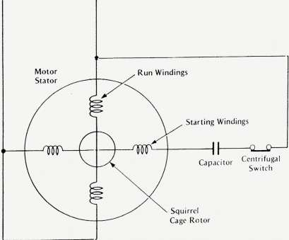 capacitor start motor wiring diagram Single Phase Motor Wiring Diagram With Capacitor Start, Inside Capacitor Start Motor Wiring Diagram Nice Single Phase Motor Wiring Diagram With Capacitor Start, Inside Collections