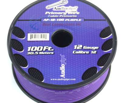 car speaker wire gauge best Details about 12 GA gauge 100' Purple Audiopipe, Audio Home Primary Wire LED Car Speaker Wire Gauge Best Most Details About 12 GA Gauge 100' Purple Audiopipe, Audio Home Primary Wire LED Ideas