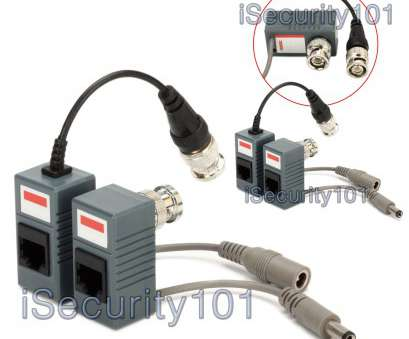 cat 5 cable bnc connector 2 Pairs, to RJ45 CAT5 Cable Video + Power Balun Connector, CCTV Camera Cat 5 Cable, Connector Most 2 Pairs, To RJ45 CAT5 Cable Video + Power Balun Connector, CCTV Camera Ideas