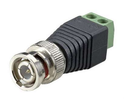 cat 5 cable bnc connector SPT Terminal Block, Male Coax Cat5 Camera CCTV Video Balun Connector (10-Piece) 9 Top Cat 5 Cable, Connector Images