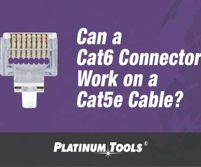 Cat 5 Wiring Diagram Youtube Practical Can A Cat6 Connector Work On A Cat5E Cable?, Platinum Tools® Photos