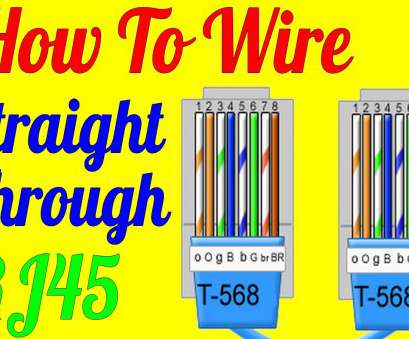 cat 6 cable wiring diagram How To Make Straight Through Cable Rj45, 5 5e, Wiring Diagram), YouTube Cat 6 Cable Wiring Diagram Cleaver How To Make Straight Through Cable Rj45, 5 5E, Wiring Diagram), YouTube Photos