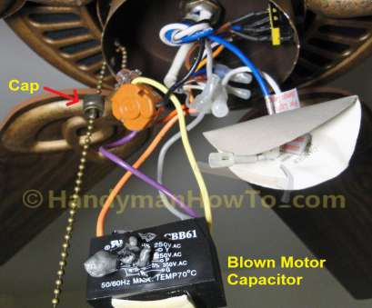 changing light switch red wire How To Replace A Ceiling, Motor Capacitor With Hampton, Fans Changing Light Switch, Wire Nice How To Replace A Ceiling, Motor Capacitor With Hampton, Fans Pictures