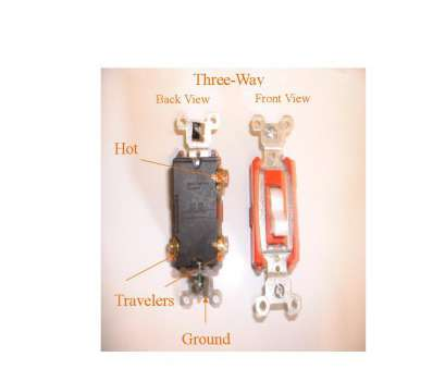 changing light switch red wire Understanding Three-Way Electrical Switches Changing Light Switch, Wire Nice Understanding Three-Way Electrical Switches Pictures
