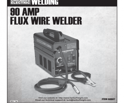 chicago electric 90 amp flux wire welder manual Chicago Electric 90, FLUX WIRE WELDER 68887 User Manual, 28 pages 18 Practical Chicago Electric 90, Flux Wire Welder Manual Photos