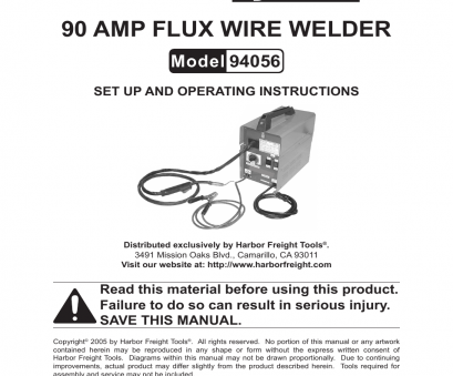 chicago electric 90 amp flux wire welder manual Chicago Electric MIG-100 94056 User Manual, 14 pages Chicago Electric 90, Flux Wire Welder Manual Simple Chicago Electric MIG-100 94056 User Manual, 14 Pages Images
