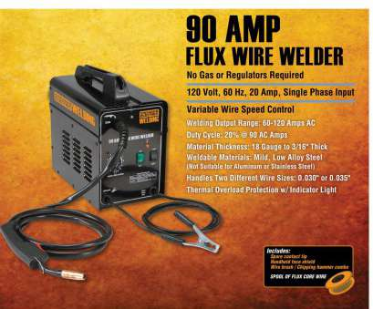 chicago electric 90 amp flux wire welder manual Welding -, Maker Station Chicago Electric 90, Flux Wire Welder Manual Brilliant Welding -, Maker Station Collections
