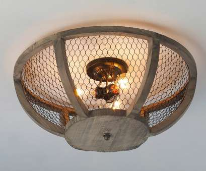 chicken wire ceiling light Chicken Wire Basket Ceiling Light Small, Shades of Light 16 Brilliant Chicken Wire Ceiling Light Pictures