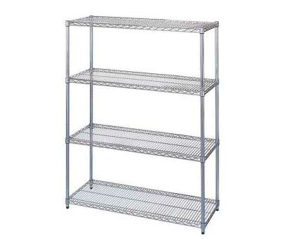 chrome plated wire shelving ..., 86''H Chrome-Plated Wire Shelving Starter, is on sale now Chrome Plated Wire Shelving Brilliant ..., 86''H Chrome-Plated Wire Shelving Starter, Is On Sale Now Galleries