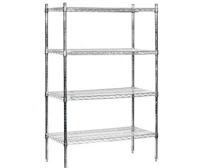 chrome plated wire shelving Salsbury Industries 9500S Series 36, W x 63, H x 18, D Galvanized Wire Stationary Wire Shelving in Chrome Chrome Plated Wire Shelving Brilliant Salsbury Industries 9500S Series 36, W X 63, H X 18, D Galvanized Wire Stationary Wire Shelving In Chrome Photos