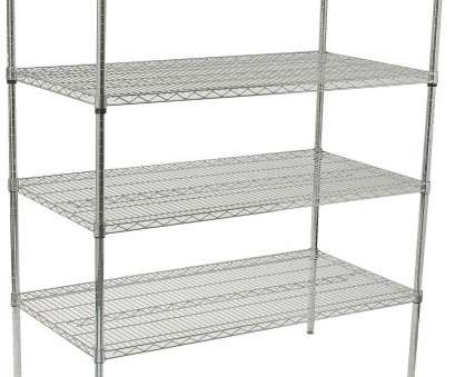 chrome plated wire shelving Winco, VCS-2448, 4-Tier Wire Shelving Set, Chrome Plated,, x, x,, Shelving Chrome Plated Wire Shelving Professional Winco, VCS-2448, 4-Tier Wire Shelving Set, Chrome Plated,, X, X,, Shelving Images