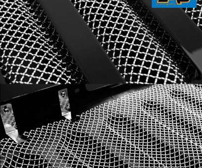 chrome wire mesh screen Amazon.com:, 07-18 Jeep Wrangler JK Wire Mesh Grille, Screen, Stainless Steel: Automotive 8 Cleaver Chrome Wire Mesh Screen Collections