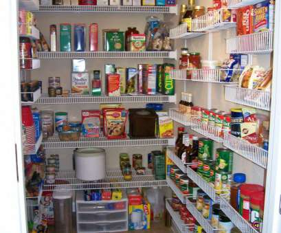 chrome wire pantry shelving Chrome pantry shelving systems, winningmomsdiary.com 14 Best Chrome Wire Pantry Shelving Ideas