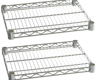 chrome wire shelf clips Commercial Kitchen Heavy Duty Chrome Wire Shelves, x, with Clips (Box of 2) Chrome Wire Shelf Clips Professional Commercial Kitchen Heavy Duty Chrome Wire Shelves, X, With Clips (Box Of 2) Images