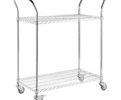 chrome wire shelf trolleys Chrome Wire Shelf Trolley, Shelves, 2 Handles Chrome Wire Shelf Trolleys New Chrome Wire Shelf Trolley, Shelves, 2 Handles Images