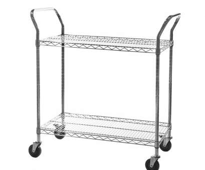 chrome wire shelf trolleys Chrome Wire Shelving Trolley, Tier Chrome Wire Shelf Trolleys Creative Chrome Wire Shelving Trolley, Tier Galleries